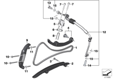 Goto diagram: BMW Classic Motorrad Modell C 650 Sport 16 (0C04, 0C14)( USA ), Category 11.34 TIMING CHAIN/CHAIN TENSIONER/SLIDE RAIL :: Diagram: 11_6709