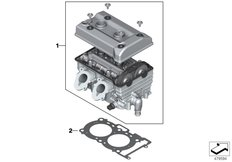 Goto diagram: BMW Classic Motorrad Modell C 650 Sport 16 (0C04, 0C14)( USA ), Category 11.12 Cylinder head, cpl. :: Diagram: 11_6784