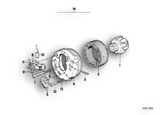 Goto diagram: BMW Classic Motorrad Modell R 80 R 91( ECE ), Category 12.10 Generator, individual parts :: Diagram: 12_0737