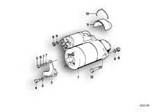 Goto diagram: BMW Classic Motorbike Model R65( USA ), Category 12.15 STARTER MOUNTING PARTS :: Diagram: 12_0739