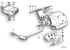 Goto diagram: BMW Classic Motorbike Model K 100 RS 83 (0502,0503,0513)( ECE ), Category 12.05 IGNITION SYSTEM :: Diagram: 12_0753