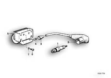 Goto diagram: BMW Classic Motorbike Model R 80 RT( USA ), Category 12.05 IGNITION SYSTEM :: Diagram: 12_0757