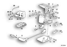 Goto diagram: BMW Classic Motorbike Model K 100 RS (0523,0533)( USA ), Category 12.05 IGNITION SYSTEM :: Diagram: 12_0763