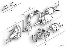 Goto diagram: BMW Classic Motorbike Model R 100 R Mystik 94( ECE ), Category 12.15 STARTER PARTS / D6RA15 :: Diagram: 12_0764