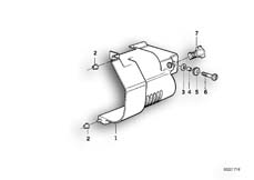 Goto diagram: BMW Classic Motorrad Modell R 1100 R 94 (0402,0407)( USA ), Category 12.41 Starter cover/mounting :: Diagram: 12_0766