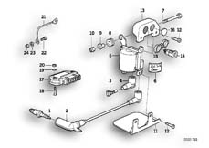 Goto diagram: BMW Classic Motorbike Model K 1100 LT (0526, 0536)( ECE ), Category 12.12 IGNITION SYSTEM :: Diagram: 12_0770