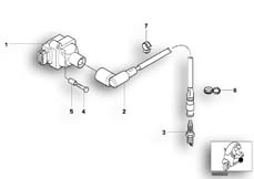 Goto diagram: BMW Classic Motorrad Modell C1 (0191)( ECE ), Category 12.12 IGNITION SYSTEM :: Diagram: 12_1067