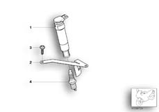 Goto diagram: BMW Classic Motorrad Modell G 650 Xcountry 07 (0164,0194)( USA ), Category 12.12 IGNITION SYSTEM :: Diagram: 12_1174