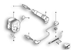 Goto diagram: BMW Classic Motorbike Model R 1150 GS Adv. 01 (0441,0492)( USA ), Category 12.12 Ignition system, double-ignition :: Diagram: 12_1226