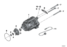 Goto diagram: BMW Classic Motorrad Modell K 1300 GT (0538,0539)( USA ), Category 12.31 Alternator Denso 70A :: Diagram: 12_1750