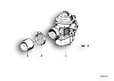 Goto diagram: BMW Classic Motorbike Model R65( USA ), Category 13.05 Carburettor :: Diagram: 13_0455