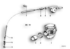 Goto diagram: BMW Classic Motorbike Model R65( USA ), Category 13.05 Carburettor :: Diagram: 13_0479