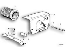 Goto diagram: BMW Classic Motorbike Model R 100 RS( ECE ), Category 13.20 AIR CLEANER HOUSING :: Diagram: 13_0480