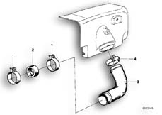 Goto diagram: BMW Classic Motorbike Model R65( USA ), Category 13.20 Air Cleaner-Intake Manifold :: Diagram: 13_0481