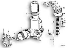 Goto diagram: BMW Classic Motorbike Model R90S( ECE ), Category 13.05 CARBURETOR-PISTON/NOZZLE NEEDLE :: Diagram: 13_0497