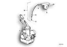 Goto diagram: BMW Classic Motorbike Model R 60 /7( USA ), Category 13.05 Carburettor :: Diagram: 13_0502