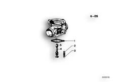 Goto diagram: BMW Classic Motorbike Model R 100 S( ECE ), Category 13.05 CARBURETOR-IDLING JET :: Diagram: 13_0507