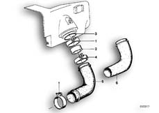 Goto diagram: BMW Classic Motorbike Model R 100 S( ECE ), Category 13.20 AIR CLEANER-SUCTION FUNNEL :: Diagram: 13_0513