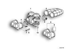 Goto diagram: BMW Classic Motorbike Model F 650 ST 97 (0163,0168)( USA ), Category 13.11 CARBURETOR CAP/PISTON/FLOAT :: Diagram: 13_0531