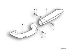 Goto diagram: BMW Classic Motorbike Model R 1150 RT 00 (0419,0499)( USA ), Category 13.71 Intake manifold :: Diagram: 13_0538