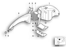 Goto diagram: BMW Classic Motorbike Model G 650 GS 09 (0178,0179)( ECE ), Category 13.71 Intake sound system :: Diagram: 13_0887