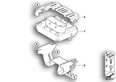 Goto diagram: BMW Classic Motorbike Model G 650 GS 09 (0178,0179)( ECE ), Category 13.61 Control unit BMS-C / E :: Diagram: 13_1119
