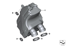 Goto diagram: BMW Classic Motorrad Modell C 650 Sport 16 (0C04, 0C14)( USA ), Category 13.71 Intake silencer :: Diagram: 13_1486