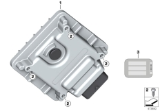 Goto diagram: BMW Classic Motorrad Modell G 310 GS (0G22)( BRA ), Category 13.61 Control unit BMS-E2B :: Diagram: 13_1855