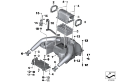 Goto diagram: BMW Classic Motorrad Modell F 700 GS 17 (0B06, 0B16)( USA ), Category 13.71 Intake sound system :: Diagram: 13_1872