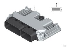 Goto diagram: BMW Classic Motorrad Modell R 1200 R (0A04, 0A14)( ECE ), Category 13.61 Control unit :: Diagram: 13_1979