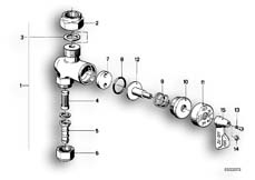 Goto diagram: BMW Classic Motorbike Model R 100 S( ECE ), Category 16.05 FUEL TAP-GERMA :: Diagram: 16_0225
