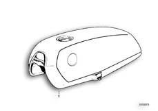 Goto diagram: BMW Classic Motorbike Model R65( USA ), Category 16.03 Fuel tank :: Diagram: 16_0226