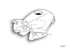 Goto diagram: BMW Classic Motorbike Model R 1100 RS 93 (0411,0416)( ECE ), Category 16.11 Fuel tank :: Diagram: 16_0254