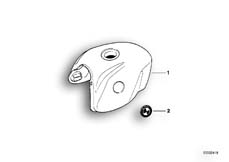 Goto diagram: BMW Classic Motorrad Modell R 1100 R 94 (0402,0407)( USA ), Category 16.11 Fuel tank :: Diagram: 16_0269