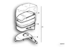 Goto diagram: BMW Classic Motorrad Modell R 80 R 91( ECE ), Category 16.20 Tank bag :: Diagram: 16_0273