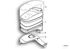 Goto diagram: BMW Classic Motorbike Model K 75 84 (0561)( ECE ), Category 16.20 Tank bag :: Diagram: 16_0274