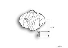 Goto diagram: BMW Classic Motorrad Modell R 100 GS PD( ECE ), Category 16.05 Fuel tank PD :: Diagram: 16_0285