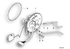 Goto diagram: BMW Classic Motorbike Model R 1150 RT 00 (0419,0499)( USA ), Category 16.14 PETROL GAUGE :: Diagram: 16_0286