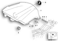 Goto diagram: BMW Classic Motorbike Model R 1200 C Indep. 03 (0362,0391)( USA ), Category 16.11 FUEL TANK/ATTACHING PARTS :: Diagram: 16_0347