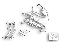 Goto diagram: BMW Classic Motorbike Model R 1200 C Indep. 03 (0362,0391)( USA ), Category 16.14 PETROL GAUGE :: Diagram: 16_0349