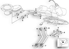 Goto diagram: BMW Classic Motorbike Model R 1200 C Indep. 00 (0405,0433)( ECE ), Category 16.13 Fuel tank ventilation/Attaching parts :: Diagram: 16_0350
