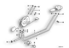 Goto diagram: BMW Classic Motorbike Model R 1150 GS Adv. 01 (0441,0492)( USA ), Category 16.13 Fuel tank ventilation/Attaching parts :: Diagram: 16_0448