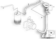 Goto diagram: BMW Classic Motorrad Modell G 650 GS 09 (0178,0179)( USA ), Category 16.13 FUEL TANK BREATHER VALVE :: Diagram: 16_0471