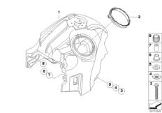 Goto diagram: BMW Classic Motorrad Modell R 1200 S (0366,0396)( ECE ), Category 16.11 Fuel tank :: Diagram: 16_0635