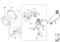 Goto diagram: BMW Classic Motorrad Modell K 1300 GT (0538,0539)( USA ), Category 16.14 Fuel pump and fuel level sensor :: Diagram: 16_0750