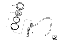 Goto diagram: BMW Classic Motorbike Model R 1200 GS Adve. 10 (0470,0480)( ECE ), Category 16.14 Sucking jet pump with lines :: Diagram: 16_0782