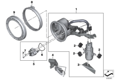 Goto diagram: BMW Classic Motorrad Modell K 1600 GTL (0602, 0612)( ECE ), Category 16.14 Fuel pump and fuel level sensor :: Diagram: 16_0833