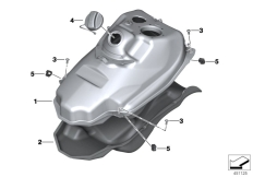 Goto diagram: BMW Classic Motorrad Modell C 650 Sport 16 (0C04, 0C14)( USA ), Category 16.11 Fuel tank/mounting parts :: Diagram: 16_0859