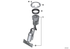 Goto diagram: BMW Classic Motorrad Modell C 650 Sport 16 (0C04, 0C14)( USA ), Category 16.14 FUEL PUMP :: Diagram: 16_0877