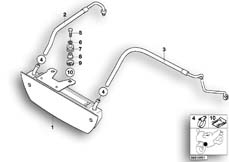 Goto diagram: BMW Classic Motorrad Modell R 1100 R 94 (0402,0407)( USA ), Category 17.21 Oil cooler, authorities :: Diagram: 17_0133
